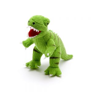 dinosaur toy Dinosaur Rattle - Mini Green T Rex
