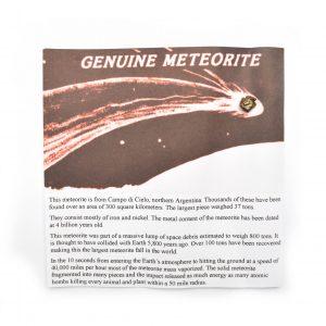 Campo Di Cielo Meteorite