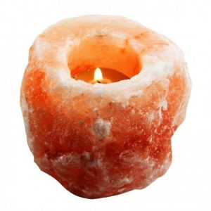 Natural Himalayan Salt Candle Holder