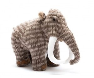 Large Woolly Mammoth Dinosaur toy