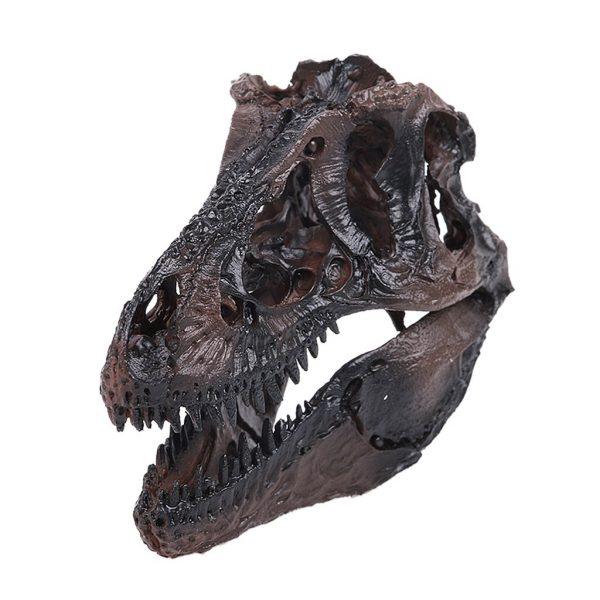 T Rex Skull Black