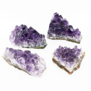 grade A amethyst_crystal clusters deep purple crystal