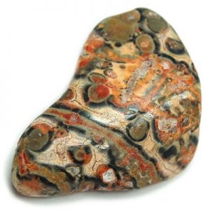 Leopardskin Jasper tumbled stone gemstone healing reki