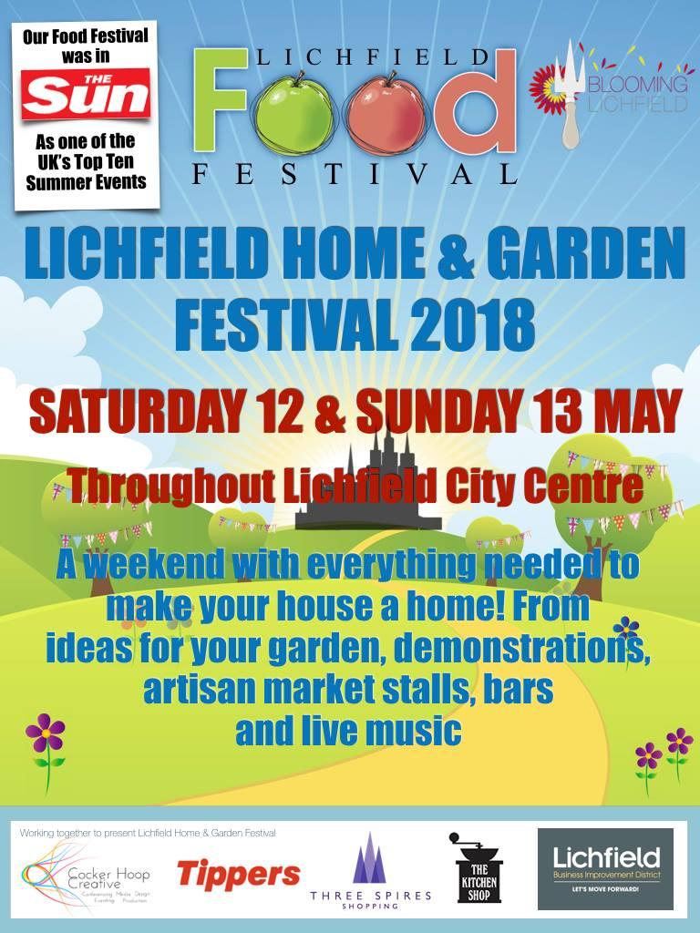 LICHFIELD HOME AND GARDEN FESTIVAL
