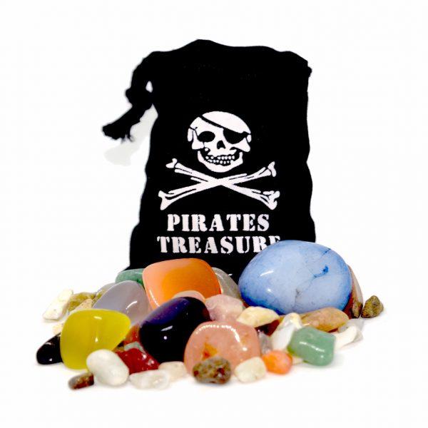 pirate gemstone treasure bag
