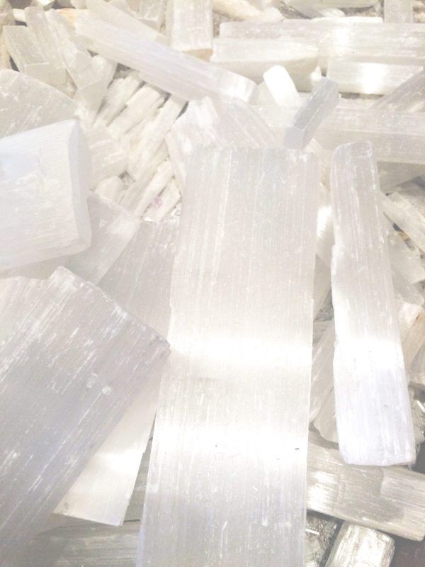 Selenite Crystal Mix