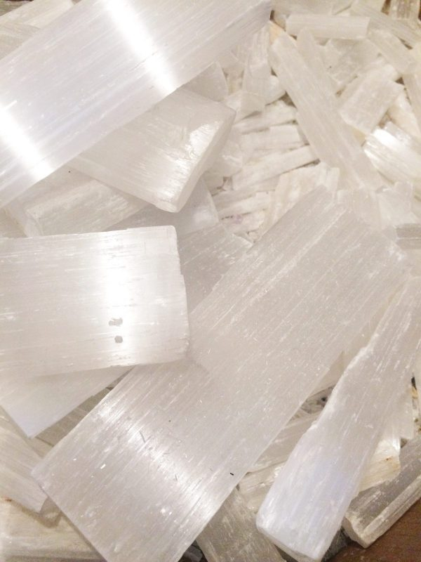 Selenite Crystal Mix Selenite Crystal Deal 1KG