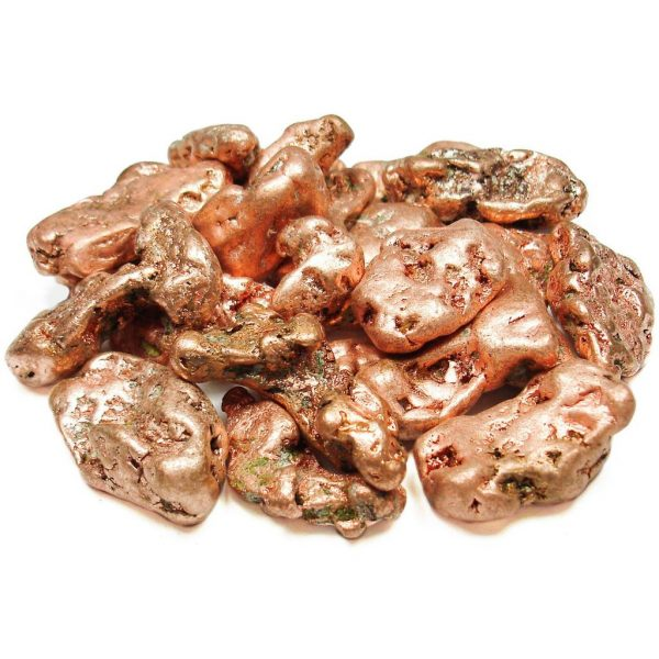 copper nuggets