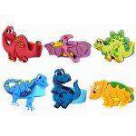 Dinosaur Toy Rings