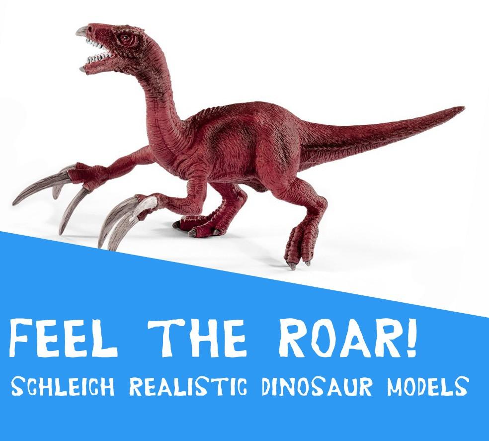 schleich dinosaur models
