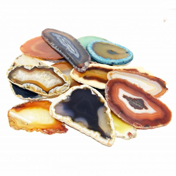 10 Agate Slices