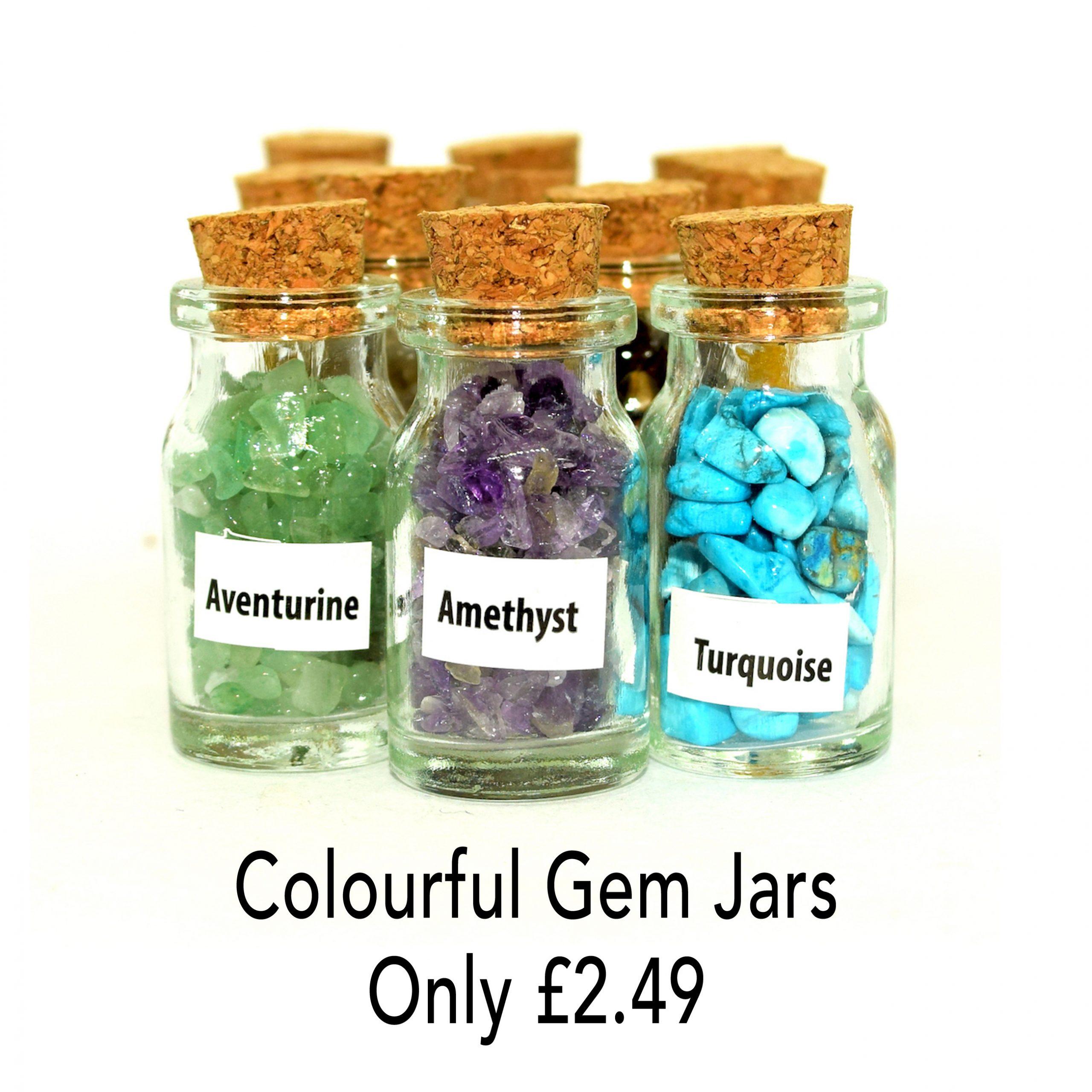 gem jars birthstones