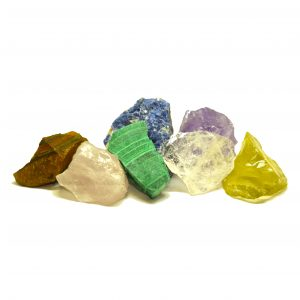chakra power stones raw healing rough chakra stones