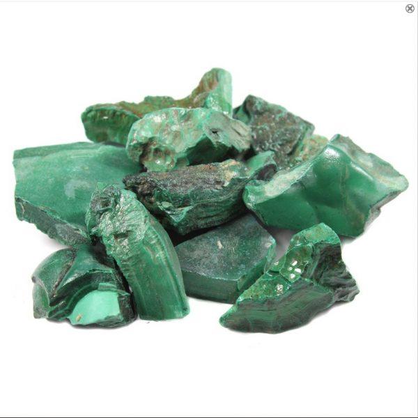 Natural Raw Malachite