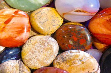 gemstones tumbled stones