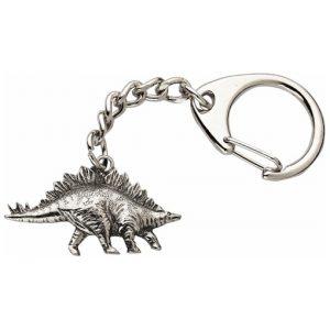 Stegosaurus keyring