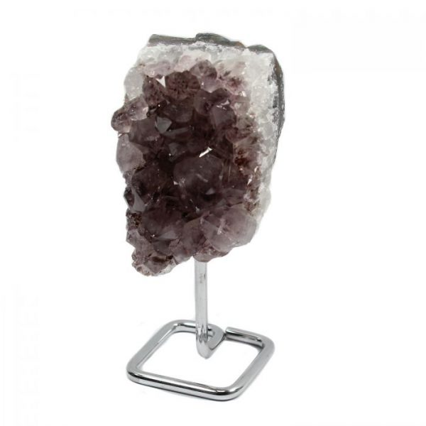 Amethyst Crystal Cluster on Stand