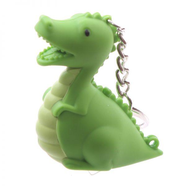 LED Dinosaur Keyring