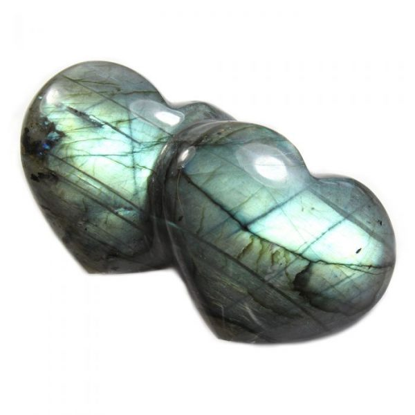 Labradorite Friendship Hearts