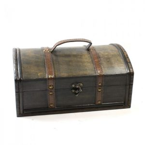 Large Wooden Treasure Chest