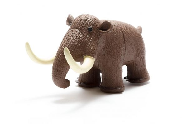 Woolly Mammoth Natural Rubber Toy Teether