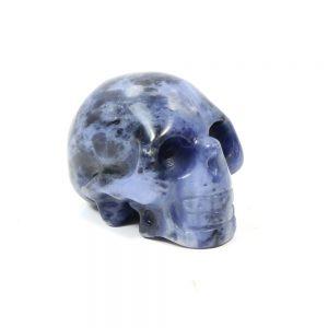 Sodalite Gemstone Skull-