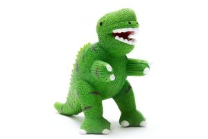 T Rex Dinosaur Natural Rubber Toy