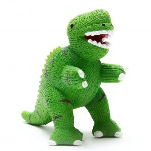 T Rex Dinosaur Natural Rubber Toy