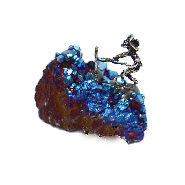 Crystal Mineral Miners - Blue Aura