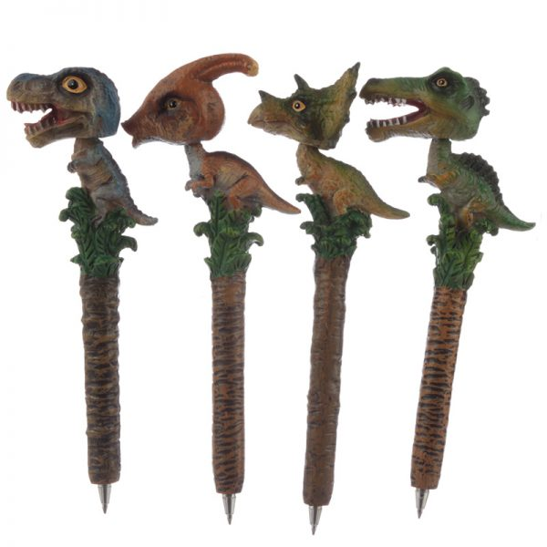 Dinosaur Bobble Head Pen