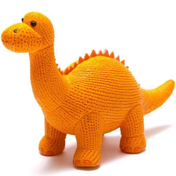 Diplodocus Dinosaur Natural Rubber Toy