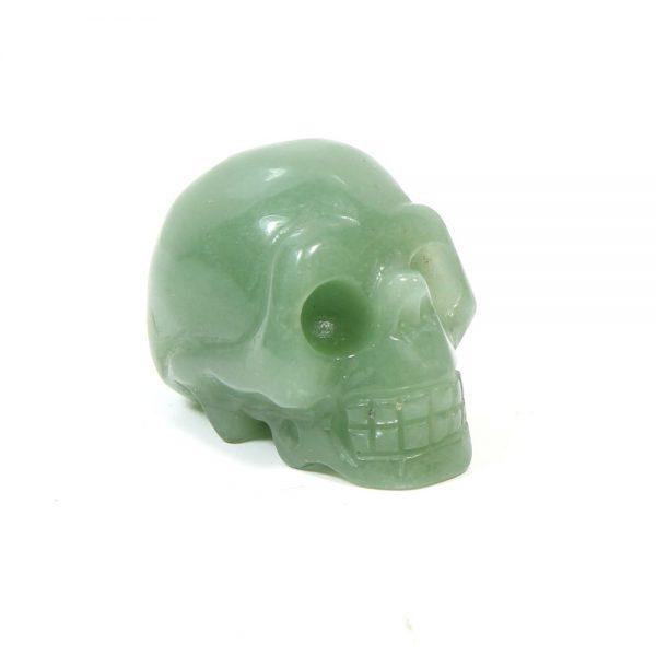 Fluorite Gemstone Skull