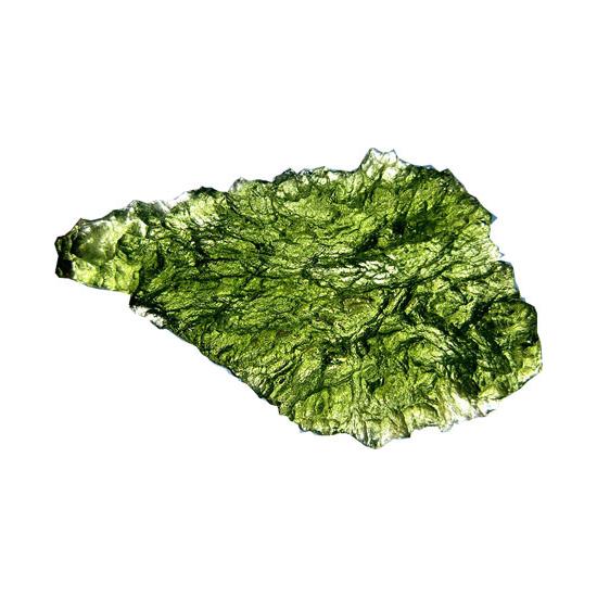 moldavite_single_crystal