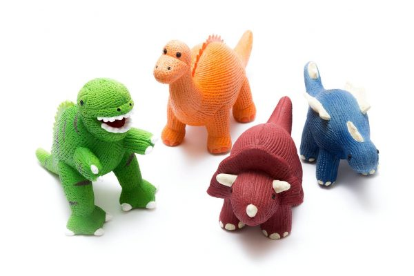 Dinosaur Teether Toys