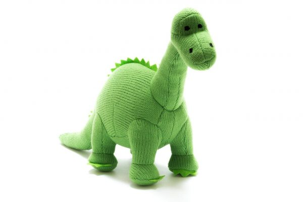 Green Diplodocus Dinosaur Soft Toy