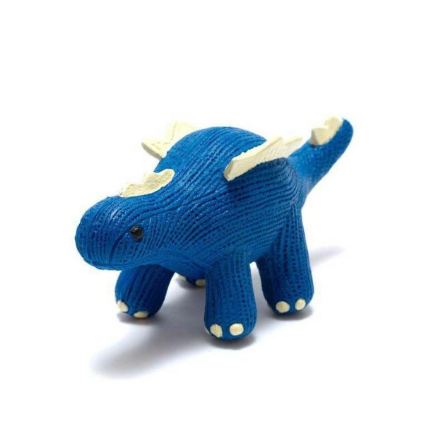 baby Stegosaurus natural rubber teether